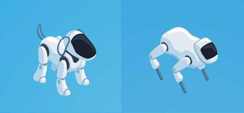 Robot chien pour sécurité privée
